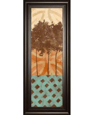 Tribal Trio I by Alonzo Saunders Framed Print Wall Art, 18