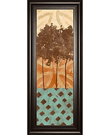 Tribal Trio by Alonzo Saunders Framed Print Wall Art Collection