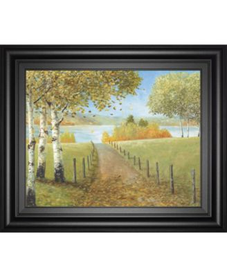 Rural Route II by A. Fisk Framed Print Wall Art, 22
