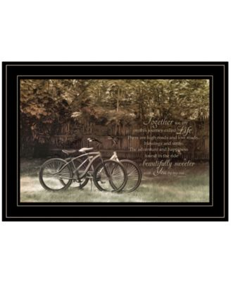 Journey Together by Robin-Lee Vieira, Ready to hang Framed Print, White Frame, 21