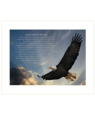 If You Could See Me Now by Lori Deiter, Ready to hang Framed Print, White Frame, 18