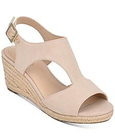 Natasha Espadrille Wedge Sandals