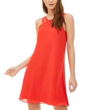 Double-Strap Shift Dress