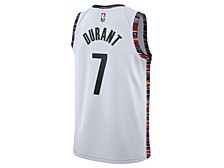 Brooklyn Nets Men's Kevin Durant City Edition Swingman Jersey