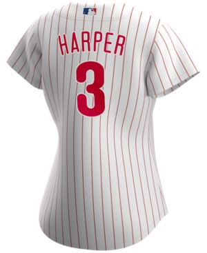 Nike Philadelphia Phillies Women's Bryce Harper Official Player Replica Jersey
