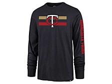 Minnesota Twins Men's Cross Stripe Long Sleeve T-Shirt