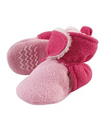 Baby Girls and Boys Cozy Fleece and Sherpa Booties