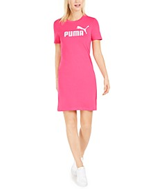 Women's ESS Logo Fitted T-Shirt Dress