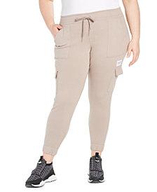 Calvin Klein Performance Plus Size Slim-Fit Cargo Jogger Pants