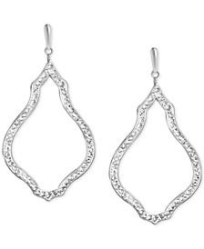 Crystal Open Drop Earrings