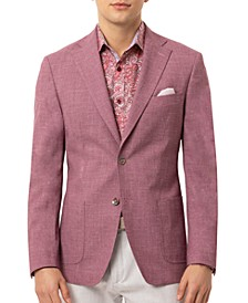 Orange Men's Slim-Fit Mauve Sport Coat