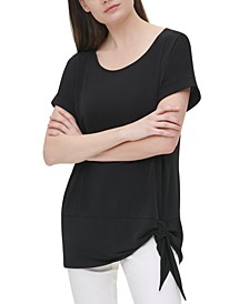 Side-Tie Tunic Top