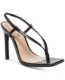 Winnie Harlow x Steve Madden Bashment Toe-Thong Sandals