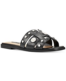 Gema Studded Slide Sandals