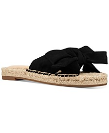 Blanche Knotted Slide Sandals