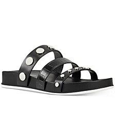 Cocco Studded-Strap Footbed Sandals