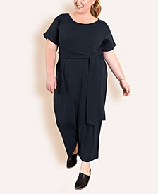 Women's Plus Size Signature French Terry Jumpsuit