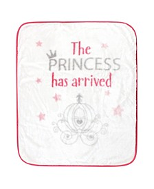 Baby Girls and Boys Princess Has Arrived High Pile Plush Blanket