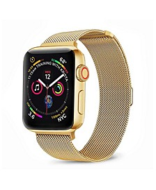 Men's and Women's Apple Gold-Tone Stainless Steel Replacement Band 40mm