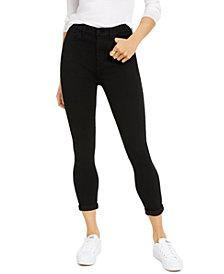 Celebrity Pink Curvy High-Rise Roll-Cuff Jeans