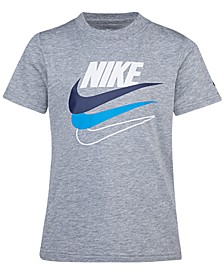 Little Boys Multi-Swoosh Logo T-Shirt