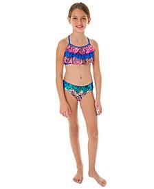 Big Girls 2-Pc. Ruffle Bikini