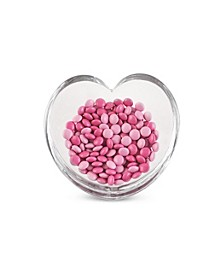 Nambe Glass Heart Bowl Medium