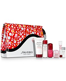 Receive a FREE 7-pc gift with $75 Shiseido purchase (Up to a $102 Value!)
