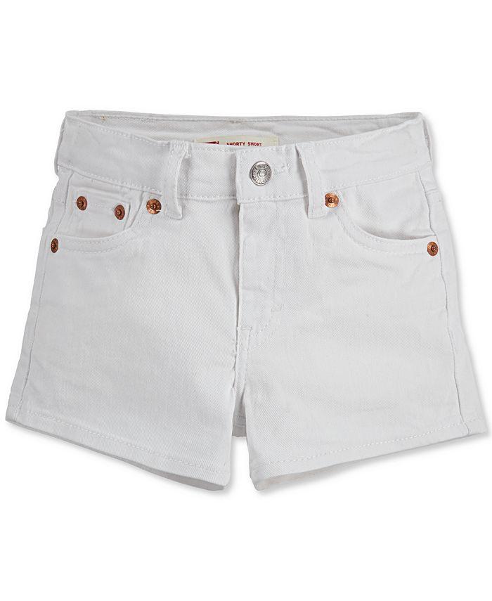 Levi's - Big Girls Girls Denim Shorty Shorts