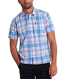 Men's Madras Short Sleeve Shirt