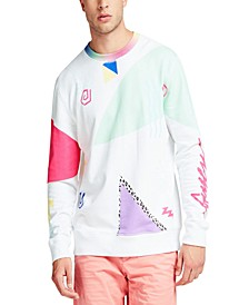 Men's Abstract Print Sweatshirt