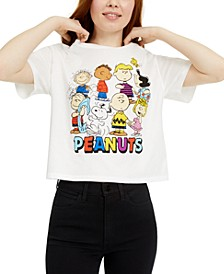 Juniors' Peanuts Gang Graphic T-Shirt