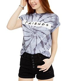 Juniors' Friends Logo Printed Graphic T-Shirt