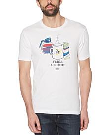 Men's Fries & Shine Logo Graphic T-Shirt