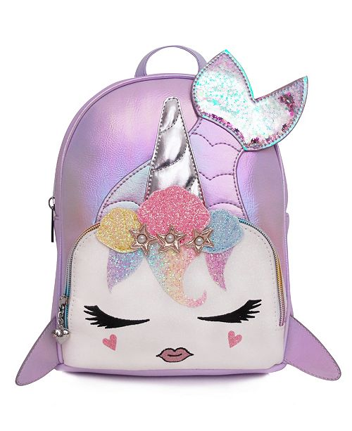OMG! Accessories Toddler, Little and Big Kids Mermaid Gisel Metallic Mini Backpack