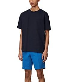BOSS Men's Medium Blue Slice-Shorts