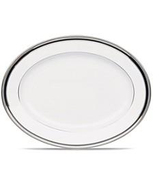 "Austin Platinum Small Oval Platter 12"""