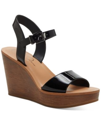 Jessica Simpson Miercen Platform Wedge Sandals