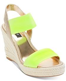 Cat Espadrille Wedge Sandals