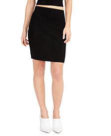 Bar III Ribbed Sweater Skirt, Created for Macy's