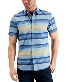 Men's Southwest Striped Shirt, Created for Macy's