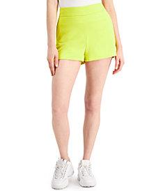 Bar III High-Waisted Shorts, Created for Macy's