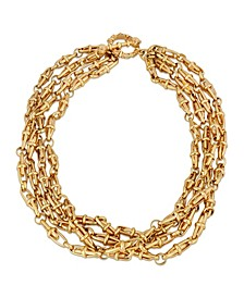 Four Tie Twisted Necklace