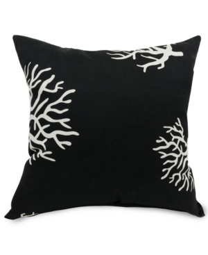 "Majestic Home Goods Cora Decorative Soft Throw Pillow Large 20"" x 20"""
