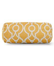 "Athens Decorative Round Bolster Pillow 18.5"" x 8"""