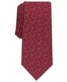 Men's Cross Abstract Necktie, Created for Macy's