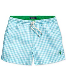 Little Boys Traveler Pony Swim Trunks