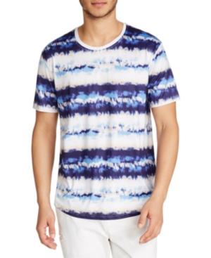 Tallia Men's Performance Stretch Tie Dye Print Short Sleeve Crew Neck T-Shirt