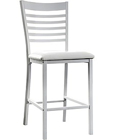 Torrance Black Pub Chair (Set of 2)
