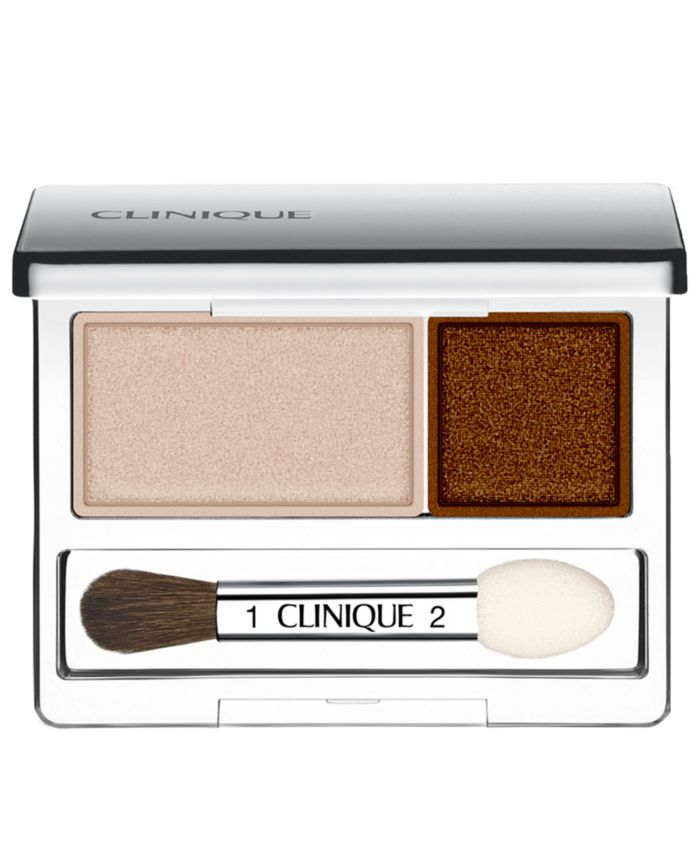 Clinique All About Shadow Duo, 0.07 oz & Reviews - Makeup - Beauty - Macy's